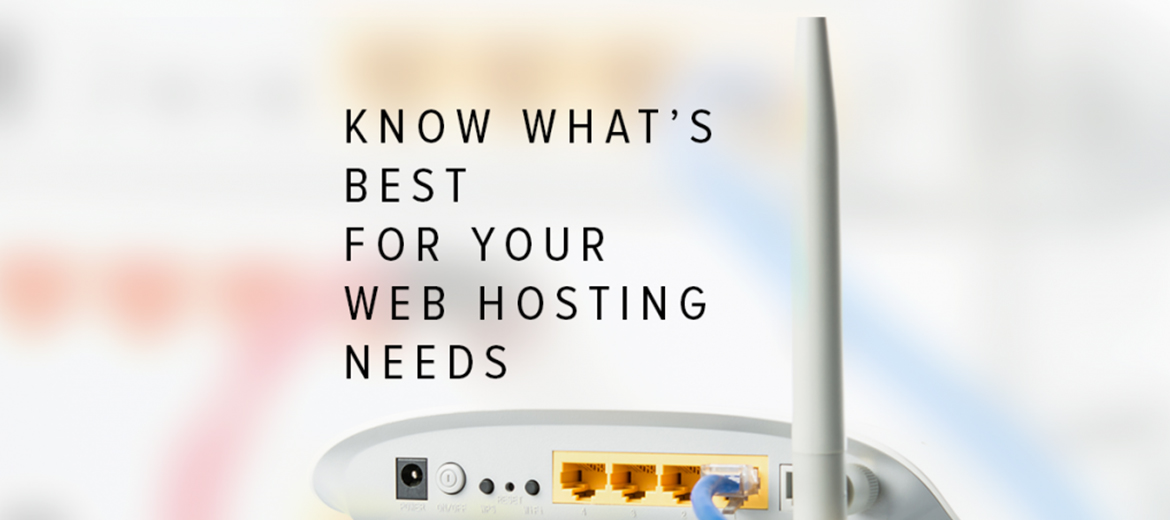 Deciding On Your Web Hosting Needs